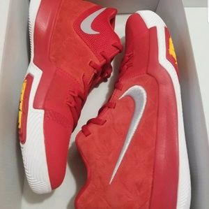 c9b39c6af085d Nike Shoes - Nike Kyrie 3 University Red Kyrie Irving Kid Shoes